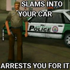 Vice City cops are very realistic