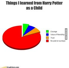 Things I learned from Harry Potter as a Child