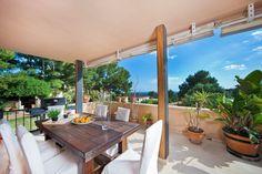 Bendinat, Southwest: Great spacious apartment with garden and terraces in Bendinat