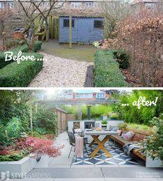 Small Gardens, Outdoor Gardens, Outdoor Stone, Outdoor Spaces, Outdoor Decor, Garden Yard Ideas, Dorm Ideas, Home Furniture, New Homes