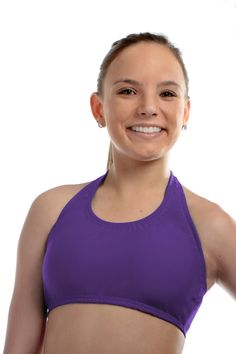 e2ac297faf Purple Halter Bras 200+ color Choices. Handmade in the USA!  23.99 Go Green