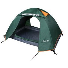 Yodo Upgraded 3Season 2 Person Waterproof Tent for C&ing Backpacking Double Layers with 2 Doors and  sc 1 st  Pinterest & Eureka Tent Combat One Person (TCOP) | Sports | Pinterest | Tents ...