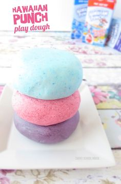 This easy to make Hawaiian Punch play dough is perfect for summer. Not only is it edible, but it is also fun to play with. This edible play dough has a fruity smell your kids will enjoy as they play and create. You won