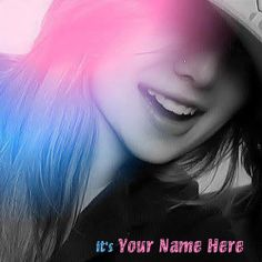 Get your name in beautiful style on Its me picture. You can write your name on beautiful collection of Girls pics. Personalize your name in a simple fast way. You will really enjoy it.