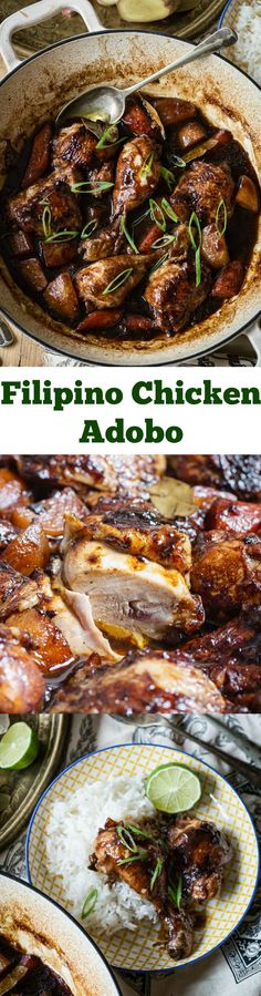 My FAVORITE Recipes: Filipino Chicken Adobo - Vikalinka