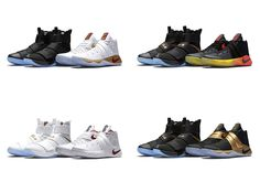 The Nike Basketball Four Wins Championship Pack will start releasing in Europe on Friday, October 28th in all 4 styles of the Soldier 10 and Kyrie 2