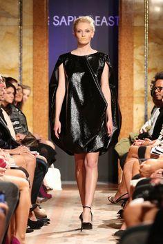Lady Gaga's favorite dress from Japenese designer Saphir East at the opening of Prague Fashion Week 2013