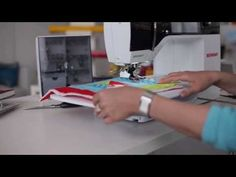 Walking foot # 50 with three soles and seam guide - BERNINA video