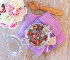 Overnight Chia Oats with Coconut Yoghurt