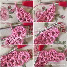 DIY – Naturtrogna virkade rosor – BautaWitch