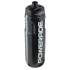Portable Beverage Bottle Ignite Black Blue White