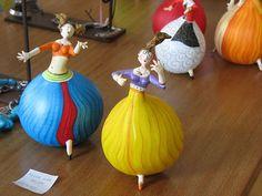 Bailarinas de cabaça