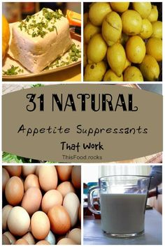 31 Natural Appetite Suppressants That Work