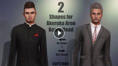 Akeruka Aron Bento Head + My Shapes in Second Life More information with links and slurls on my blog:https://strawberrysingh.com/2017/07/0...~ CONNECT...