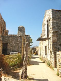 Spinalonga - I've been there and it was little bit creepy island ...