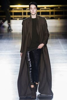 I love these Cropped Snakeskin Pants!  Haider Ackermann | Fall 2014 Ready-to-Wear Collection | Style.com
