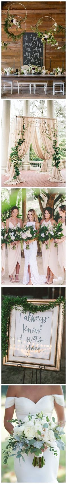 Greenery Wedding Color ideas