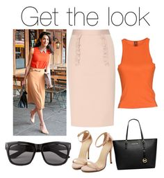 A fashion look from August 2015 featuring sleeveless tops, pink skirt and ankle strap sandals. Browse and shop related looks. Get The Look, Shoe Bag, Polyvore, Stuff To Buy, Shopping, Collection, Shoes, Design, Women