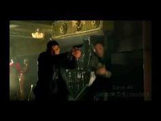 ▶ CASTLE- Castle saves Beckett - YouTube