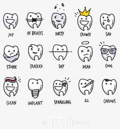 28c727101 cute cartoon tooth. Dentes DesenhoIlustrações ...