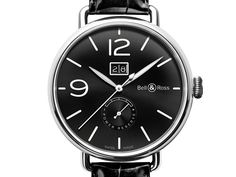 Bell & Ross Collection Vintage WW1 (BRWW190-BL-ST/SCR)