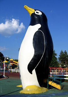 Penguin Park - Giant Penguin in Kansas City, Missouri — I went to this park all the time with my grandparents. Best place to go, still!