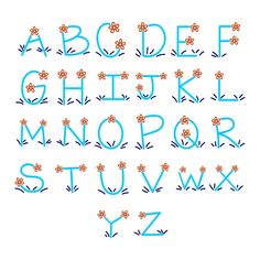 Calligraphy Fonts Alphabet, Hand Lettering Alphabet, Doodle Lettering, Creative Lettering, Handwriting Fonts, Lettering Design, Play Therapy, Therapy Activities, Speech Therapy