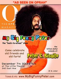 Bear Week Provincetown muscle bear oprah hairy  comedy funny peter bisuito my big funny peter
