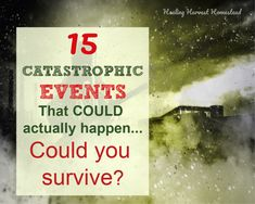 15 Catastrophic Events You MUST Prepare For, Their Possible Consequences, and How You Can be Ready — Home Healing Harvest Homestead Emergency Food, Emergency Preparedness, Herbal Tinctures, Herbalism, Vegan Recipes Easy, Beef Recipes, Preserving Food, Natural Home Remedies, Kitchen Recipes