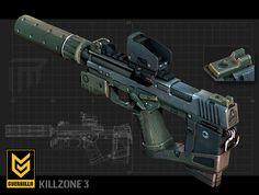 M66 MACHINE PISTOL, T W on ArtStation at https://www.artstation.com/artwork/m66-machine-pistol-right