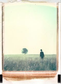 The Mysterious Polaroids of Bastian Kalous polaroid landscapes