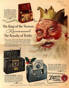 Zenith ad from Look Magazine Dec. 6,1949. Zenith was calling itself Zenith Radio and Television, but there were no TVs in the ad