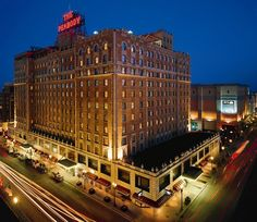 The Peabody..Memphis, TN...where I stay when Im in Memphis