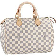 Louis Vuitton Outlet Damier Azur Canvas Speedy 30 N41533 Only $224.14 | Authentic Louis Vuitton, Louis Vuitton Outlet Online