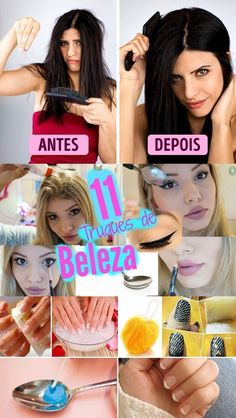 11 dicas de beleza para fazer em casa #DICAS #BELEZA #MULHERES @FAZEMEMCASA