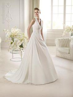 Vestido de novia de San Patrick. www.webnovias.com