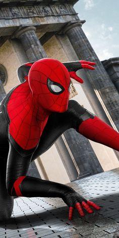 breathtaking wallpaper 2019 movie Spider-man: Far From Home Wallpaper Mafex Spiderman, Amazing Spiderman, Man Wallpaper, Avengers Wallpaper, Marvel Fan, Marvel Avengers, Wallpaper Bonitos, Iron Spider, Marvel Comic Universe