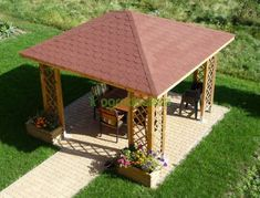 A pop-up gazebo is easy to transport it is not a permanent structure but the perfect shelter for commercial events, market stalls, camping and garden parties. Modern Gazebo, Small Gazebo, Hot Tub Gazebo, Backyard Gazebo, Canopy Outdoor, Outdoor Pergola, Bbq Shed, Gazebo Sale, Pavillion