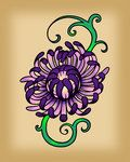 Chrysanthemum Tattoo by ~InkDowser on deviantART