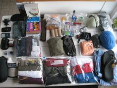 """How to Pack a Backpack"" - wish I'd found this before I went backpacking!"