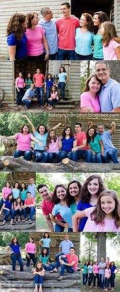 family posing ideas | Family