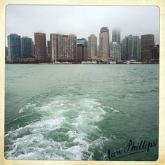 On the ferry to Wards Island • Toronto