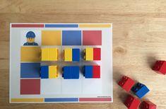 Juego de lógica con ladrillos LEGO