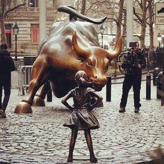 No words necessary!!! #fearlessgirl #standingfirm #equality #shemakesadifference #inspiration #peace #power #girlpower #strength #unity #love #joy #sisterhood #brotherhood #friyay #fearlessfemale #feminist #feminism #goodvibes