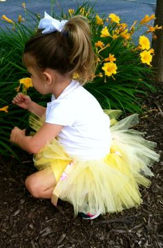 Princess Belle Tutu $18.00 This is handmade by Tutu Cute N Sweet where you can find the store on www.etsy.com/..., Facebook, and shopinterest.co