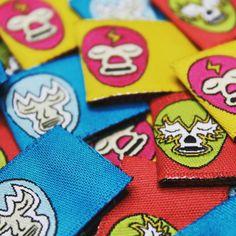 indet_labelsLuchadores inspired Woven label for kids clothes!!! indet_labels#tags #labels #fashion #trends #indet #moda #etiquetas #woven #nice #instagood #instalike #instafashion #fashionblogger #luchadores