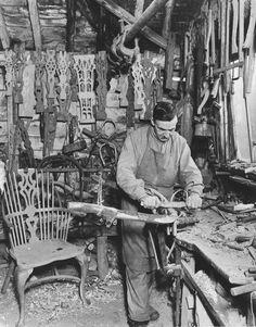 Windsor chair making