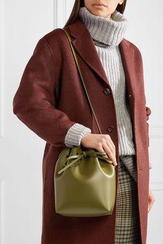 Mansur Gavriel | Mini leather bucket bag | NET-A-PORTER.COM