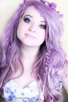 violet hair - Google'da Ara