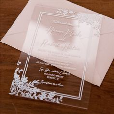 We offer you elegant and affordable wedding invitations, laser cut wedding invitations, rustic wedding invitations and so on. Unique Wedding Stationery, Wedding Invitation Trends, Affordable Wedding Invitations, Invitation Design, Acrylic Wedding Invitations, Save The Date Cards, Rustic Wedding, Wedding Planning, Invites